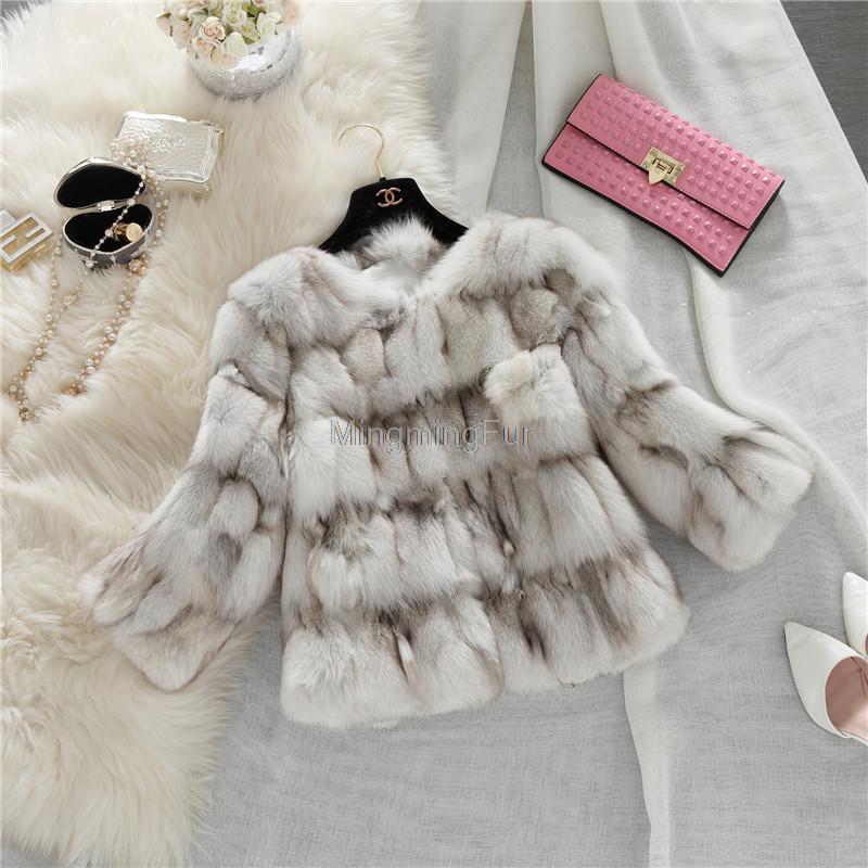 2015 new real gorgeous Fox fur jacket long natural Fox fur coat fashion Women Fox fur coatОдежда и ак�е��уары<br><br><br>Aliexpress