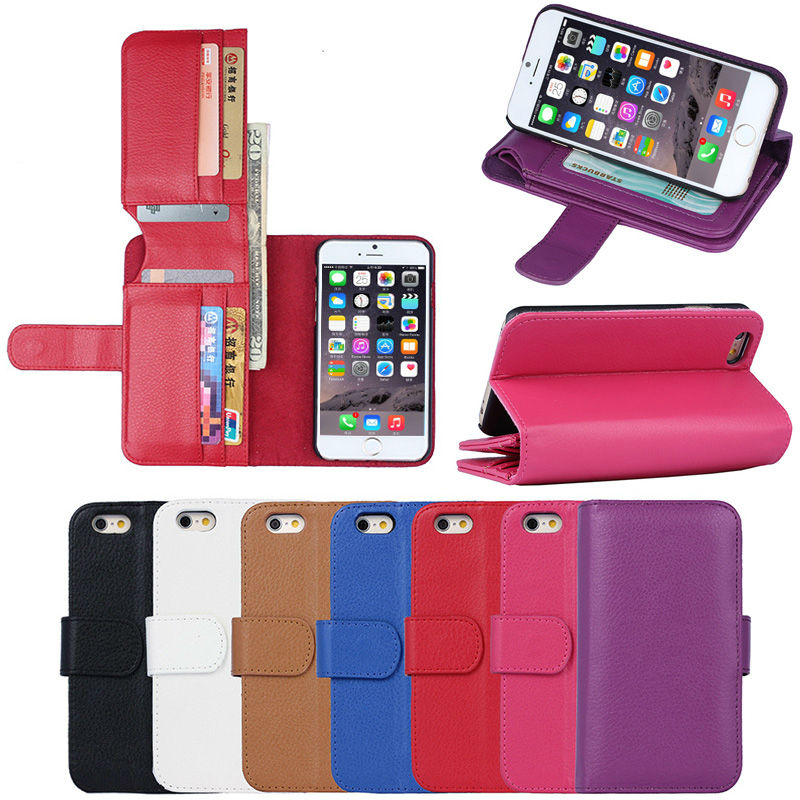 New bit multi card wallet leather phone case for font b iphone6 b font 6s