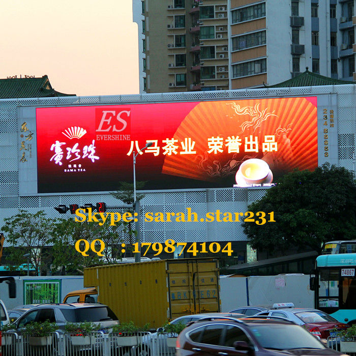 Commercial Large Advertisement LED Panel / Construct Building LED Billboard(China (Mainland))
