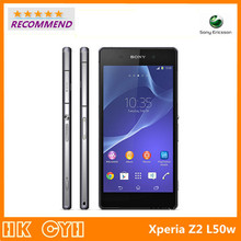 "Original Refurbished Unlocked Sony Xperia Z2 L50w D6503 cell phone Quad core 5.2"" 20.7MP 3GB RAM 16GB ROM Android 4.4 WIFI GPS"