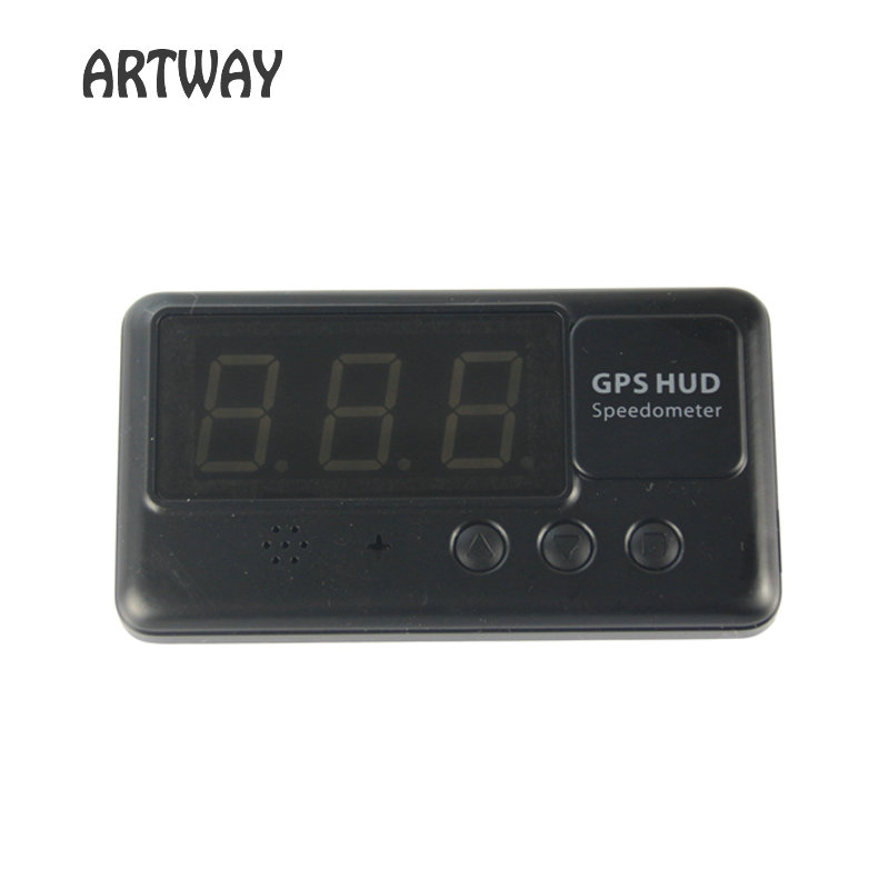 C60 Car Vehicle Speedometer Driving time and distance calculate and display Overspeed Warning Windshield Project Alarm System(China (Mainland))