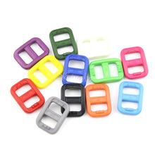 """100pcs Pack 3/8""""Plastic MIX Color Ful Tri Glide Adjust Buckles Slider Tri-Glide Adjust Buckles Webbing (10.5mm) #A011(China (Mainland))"""