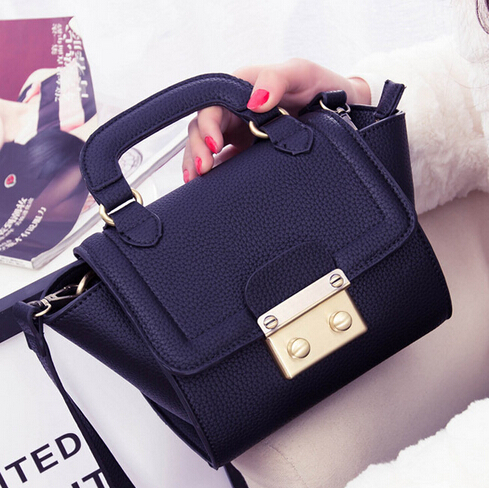 2015 Spring Arrival Vintage Lichee Grain Bat Pack Phantom Series Smiley Famous Brand Women Clutch Cross Body Bags Small size - Fujian Hengsheng Co., Ltd store