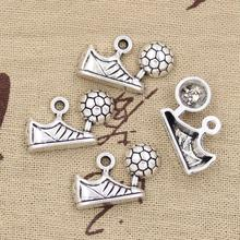 Buy 99Cents 5pcs Charms football soccer cleats 15*23mm Antique Making pendant fit,Vintage Tibetan Silver,DIY bracelet necklace for $1.01 in AliExpress store