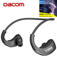 Original DACOM Armor G06 IPX5 Waterproof Sports Headphone Wireless Bluetooth V4.1 Earphone Ear-hook Running Headset with Mic(China (Mainland))