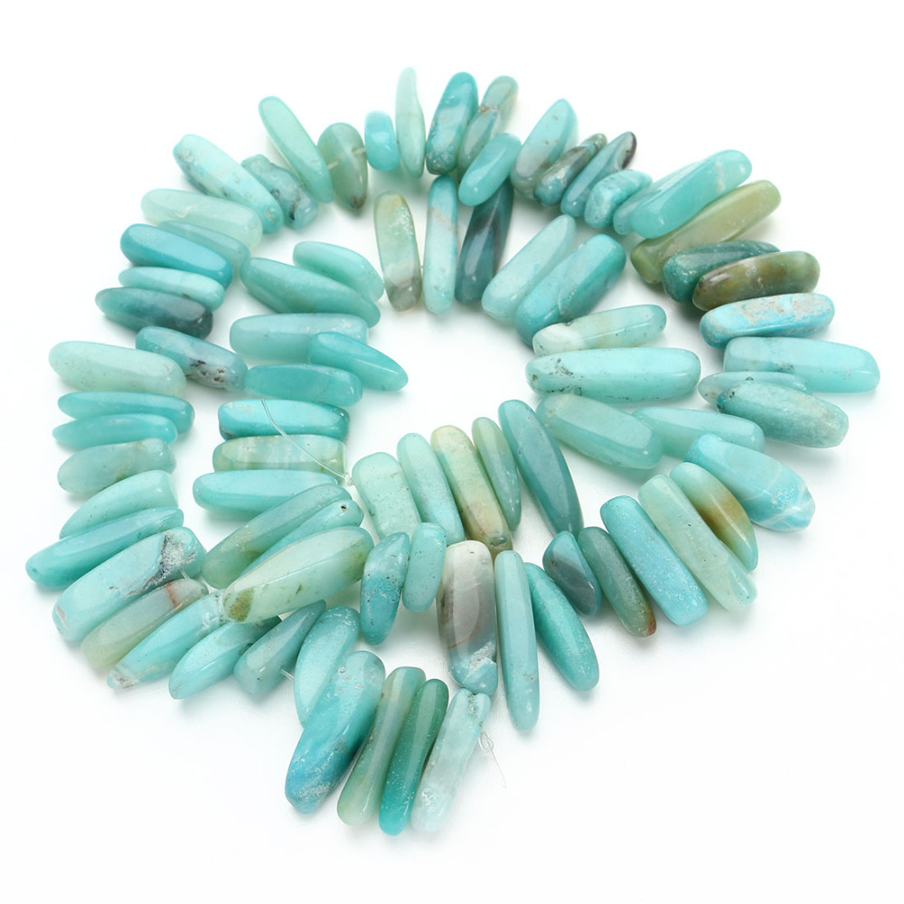 1Strand Approx.40cm/16 A Quality Big Irregular Gravel Natural Blue Amazonite Stone Beads Loose Spacer Jewelry DIY Beading F1827<br><br>Aliexpress