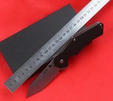 Alta calidad plegable del cuchillo táctico de la supervivencia cuchillos G10 mango mejor que envía libremente