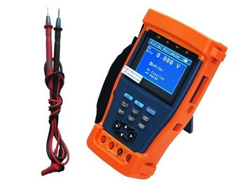 "Free shipping!!3.5""TFT-LCD  Monitor STest 894 with DC 12V output CCTV Tester"