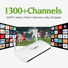 Buy Leadcool Smart IPTV stb Android tv Box Media Player Arabic French 1300+Europe IPTV Subscription 1 year Italia TV Receivers for $68.38 in AliExpress store