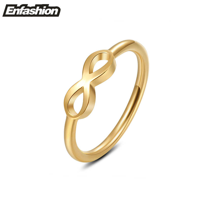 Fashion infinity ring women midi ring 18k rose gold plated for Infinity ring jewelry store