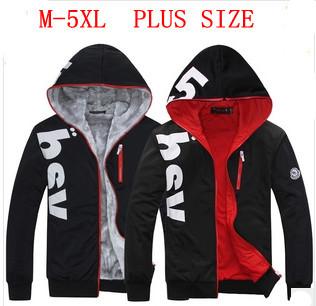 [C-149] 2013 100% Cotton Men's Casual Villus Inside Upset Warm Hoody Sweater/Woven Coat,men'soutwear Hooded jacket coat