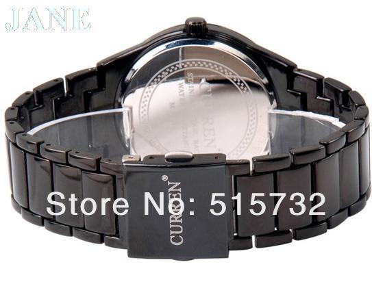 CURREN 8106 watches for men watch mens Men s Tungsten Steel Analog Quartz Watch 5