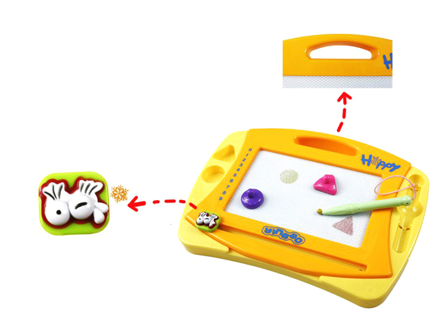 Puzzle toy multicolour tablespoonfuls Small doodle drawing board 838aa-1