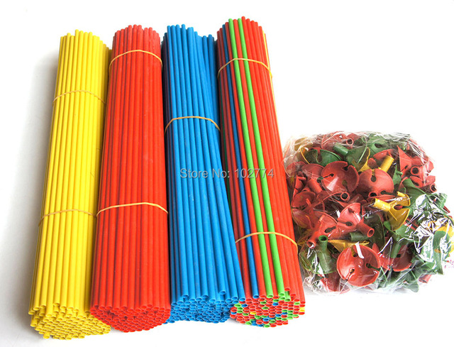 32cm balloons rod  PVC rods  rods for support balloon accessories for party festival free shipping