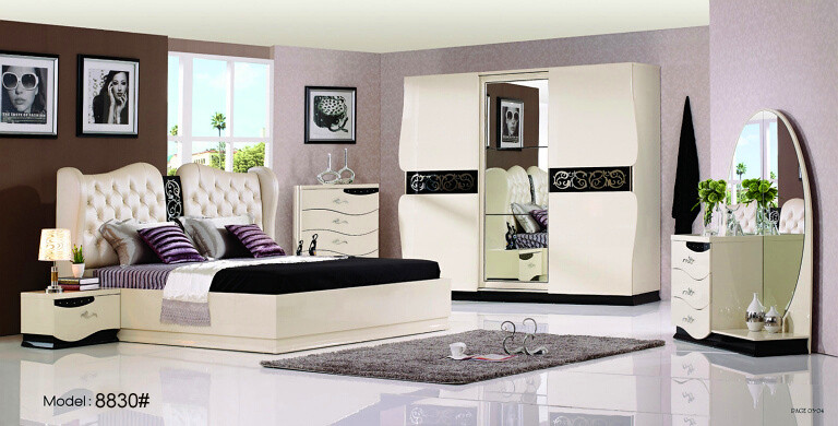 2015 Modern Bed Room Furniture Set Bedroom Sets<br><br>Aliexpress
