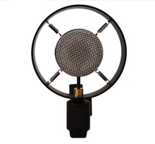 Free shipping sliver retro vintage karaoke computer photograph movie Props studio recording condenser Microphone