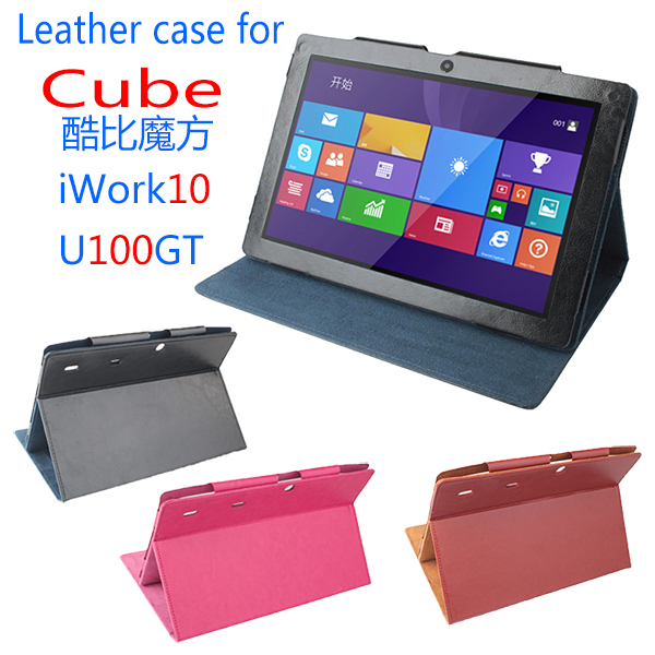 Original Cube Flip Utra Thin Leather Case for Cube iWORK10 U100GT 2014 New 10.1 inch Tablet PC,Cube iWORK10 U100GT Case<br><br>Aliexpress