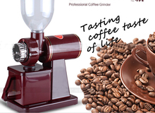 free shipping DHL NEW ARRIVAL 220V coffee grinder machine coffee mill with plug adapter
