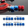 20 pair 40pcs insulation foam tips for in ear earphone headset earphones enhanced bass Ear Pads