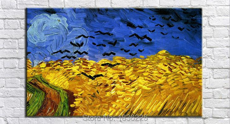 Van gogh famosi quadri astratti immagini uccelli dipinti for Quadri astratti famosi