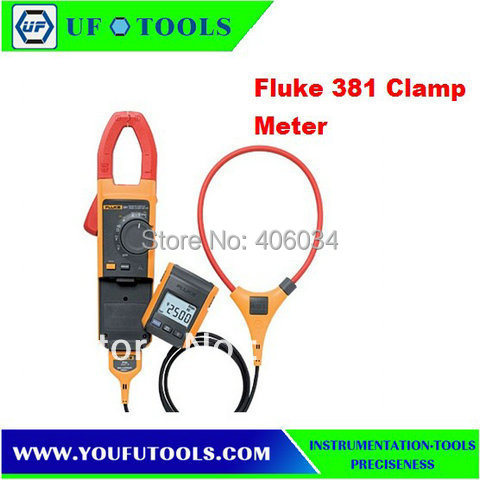 Fluke 381 F381 True-RMS 1000A AC/DC Clamp Meter with iFlex replace Fluke 336 337(China (Mainland))