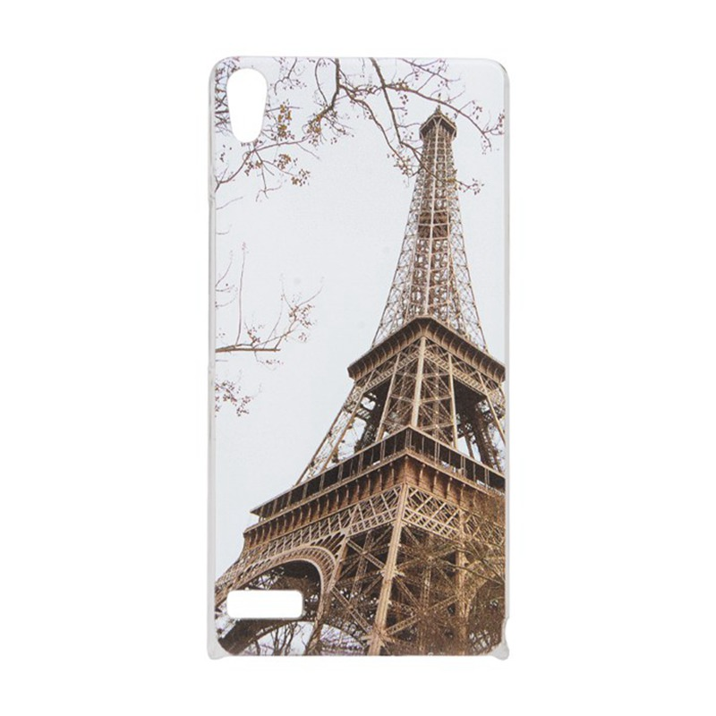 Huawei Ascend P6 New Luxury Adorable Colored Drawing Pattern Cell Phone Hard Back Case Cover - Mike digital accessories store