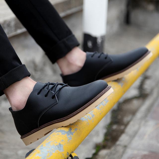 2016 весной и летом мужчины случайные одиночные обувь Корейской версии мода оксфорд ...