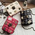 Women Bag 2016 Luxury Brand Woman Small Bag Chain Plaid Crossbody Bags For Women Shoulder Bags