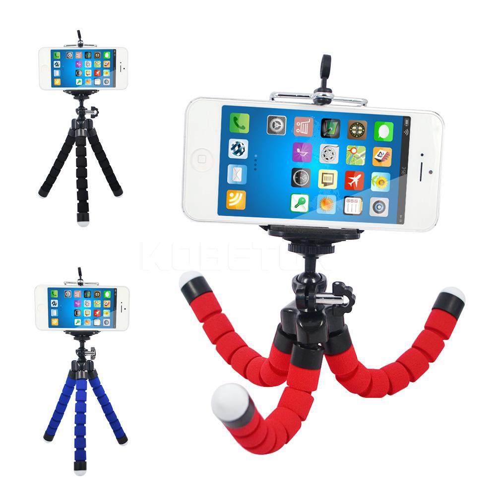 Mini Flexible Camera Phone Holder Flexible Octopus Tripod Bracket Stand Holder Mount Monopod Styling Accessories(China (Mainland))