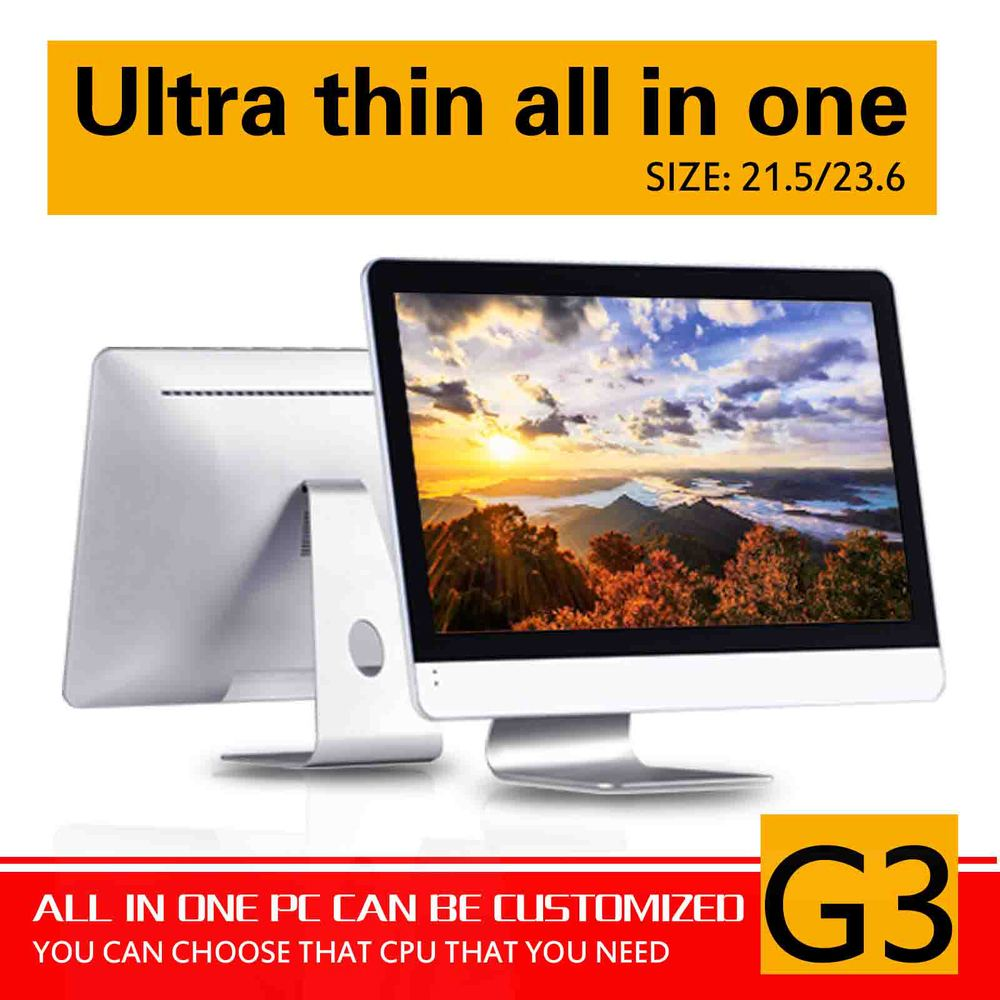 G3 21.5 LED Screen core I3 4130 dual core Touch screen all in one pc All-in-one pc 4G RAM 500G HDD Pc all in one<br><br>Aliexpress