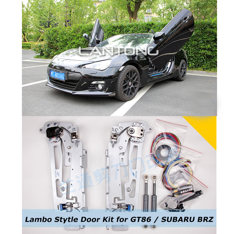 Free DHL ship lambo door hinge for Toyota GT86 SUBARU BRZ Car Lambo Style Door Kit 60 Degree Vertical Door(China (Mainland))