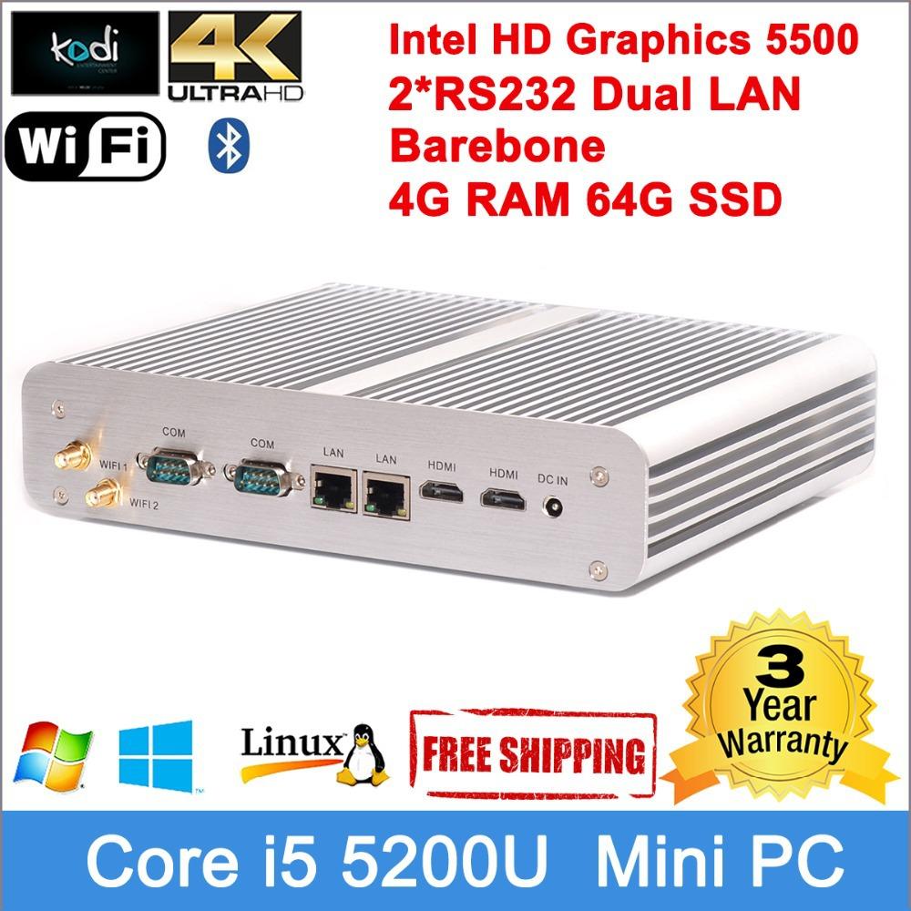 Windows 8 mini pc Broadwell Core 14nm processor intel HD graphics 4096*2160 definition Dual HDMI pc Windows 8.1 mini desktop(China (Mainland))