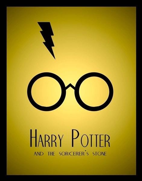 Glasses Sorcerer Stone Magic Harry Potter Hogwarts Retro Decorative Poster DIY Wall Sticker Home Bar Posters Home Decor Gift(China (Mainland))