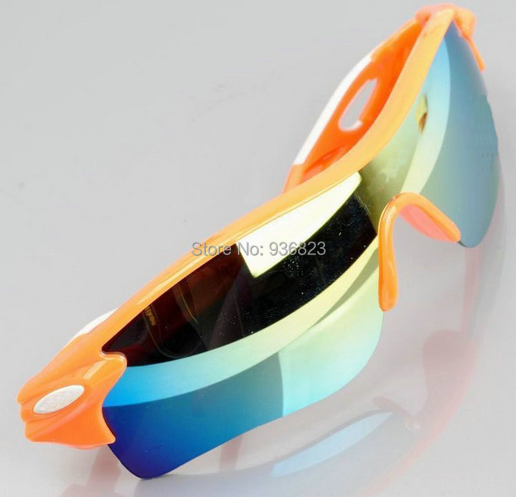 Super Cool 9 colors Outdoor sports sunglasses Men Women Windproof goggles Resin Lens Cheap - happy Angela's store