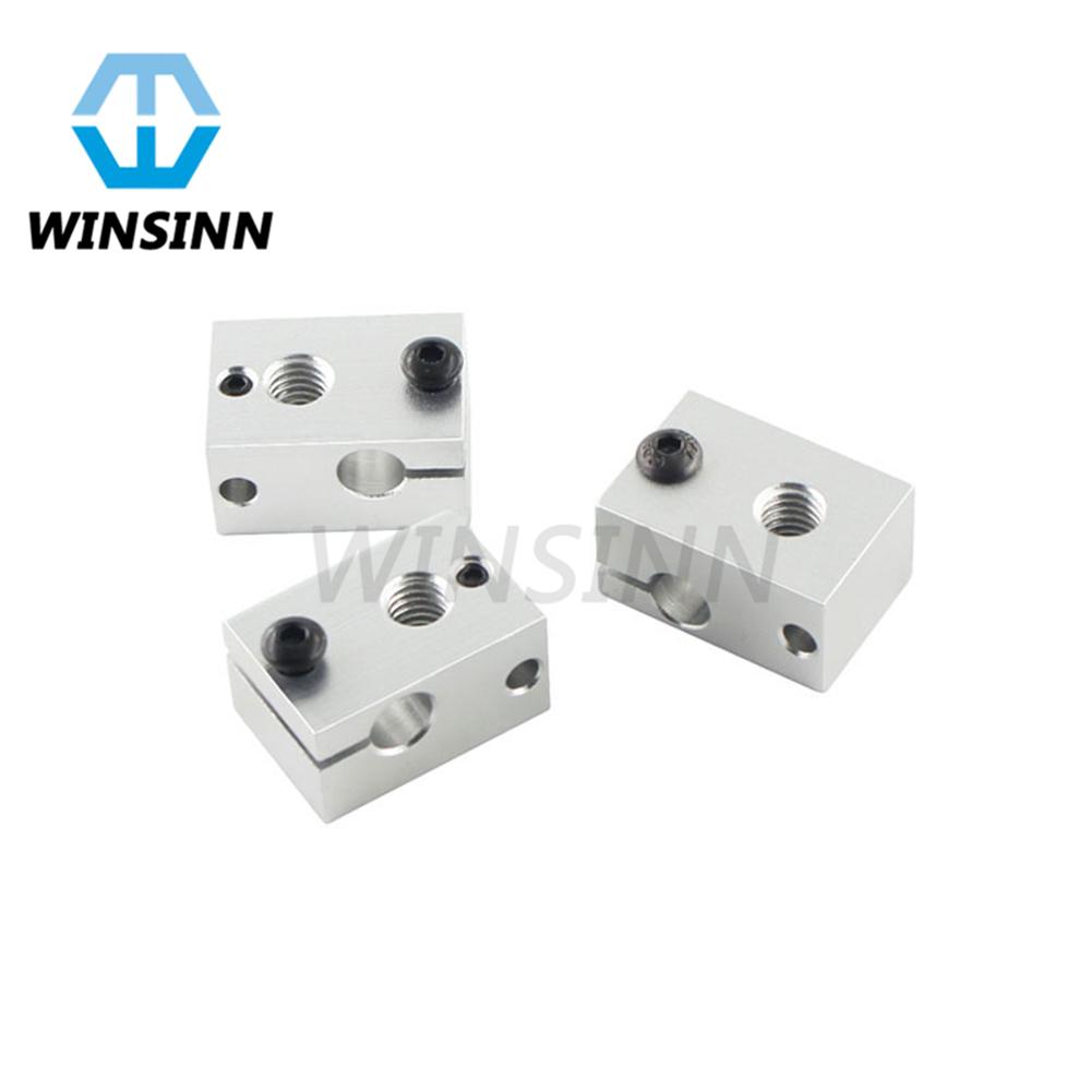 Pack of 5Pcs WINSINN 12V 50W Ceramic Cartridge Heater 620 Heating Tube NTC100K 1M for Ender 3 CR-10 Sensor Heater Block V6 J-Head Hotend Extruder 3D Printer