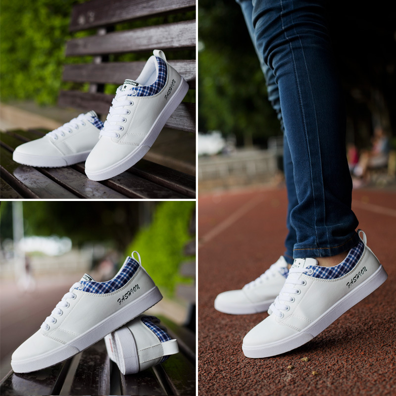 2014 new men s sneakers korean style casual breathable men canvas shoes casual and comfortable Korean fashion style shoes