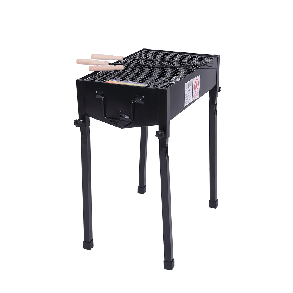 New portable folding charcoal bbq grill BBQ Grill barbecue grill for outdoor 49*31*56cm(China (Mainland))