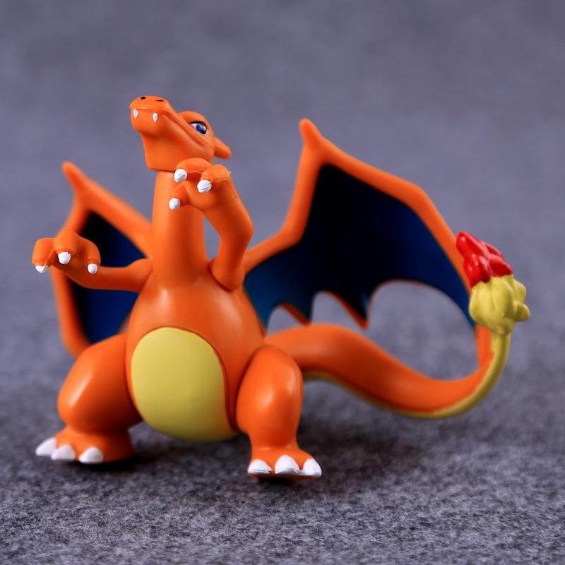 Japanese font b anime b font dragon 5 10cm small mega pokemon xy action figures model