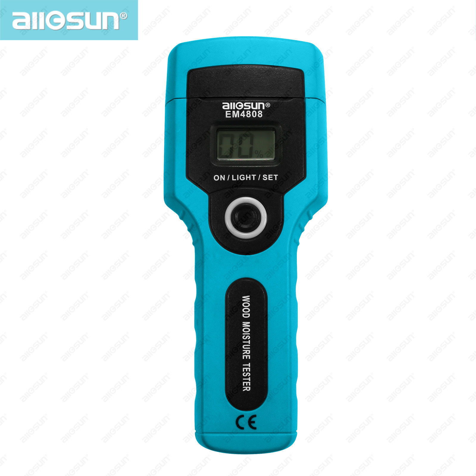 all-sun EM4808 Portable Digital Moisture Meter Wood Humidity Tester 7 ranges Measurement Resolution:1% Accuracy up to 2%-5%(China (Mainland))