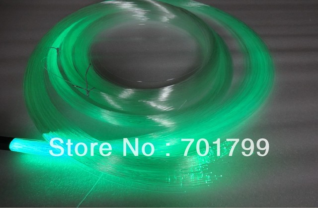 PS optical fiber kit;200pcs fibers x 1.0mm(diameter) x 4 meter long