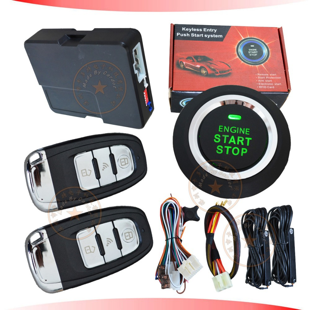 Diesel Engine Start Stop System : New remote start pke car alarm system with green engine