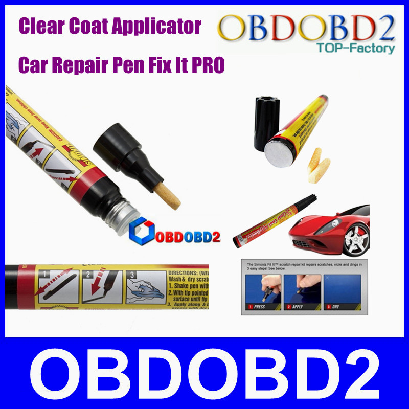 New Coming Fix It Pro Clear Car Scratch Repair Pen Tool From SIMONIZ Car Repair Remover AS SEEN ON TV CNP Free(China (Mainland))
