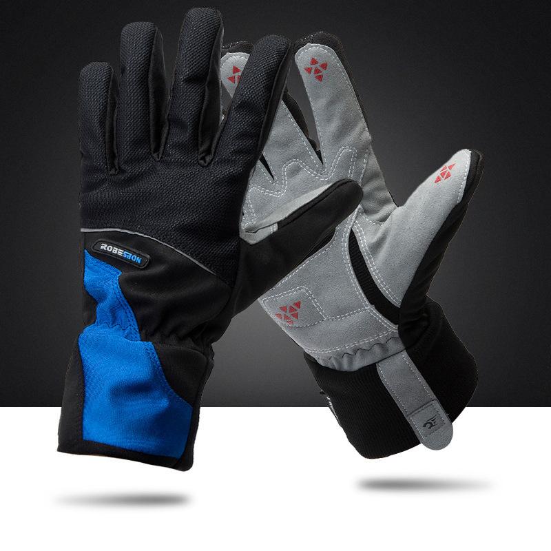 2014 Windproof waterproof Windstopper winter Bike Bicycle Full Long finger warm gloves - Cherry World store