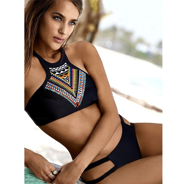 Bikinis Two-Piece Suit With Push up