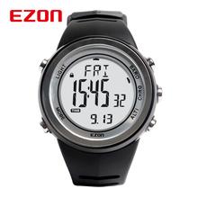 Ezon reloj Digital Unisex relojes deportivos hombres mujeres escalada exterior reloj del barómetro del altímetro termómetro a prueba de agua / H009