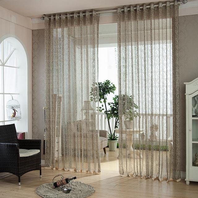 Japanse moderne gouden luipaard korte kant screening venster gordijnen vitrage voor luxe - Gordijnen voor moderne woonkamer ...