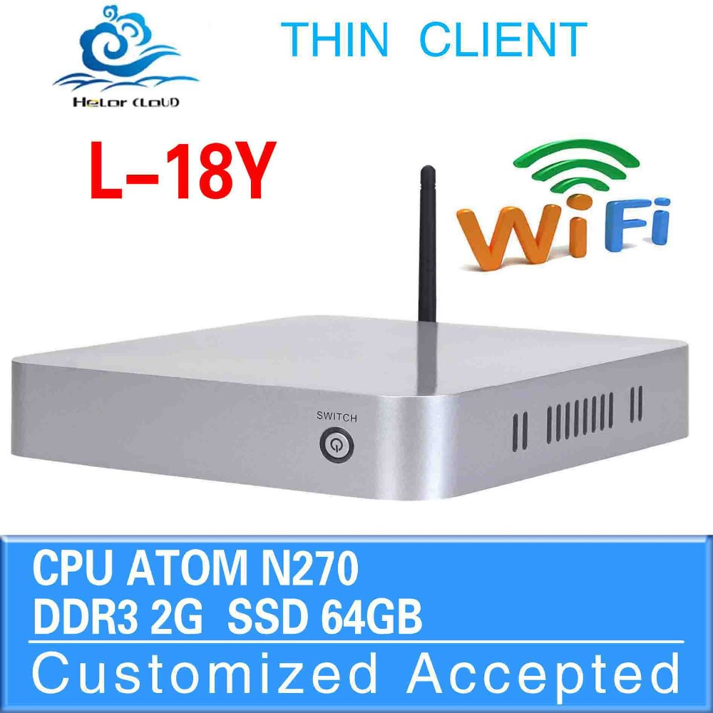 Mini PC With Fan,N270 With Power Adapter, DDR2 RAM 2G 64g SSD,Mini Computer Desktop Case, Game PC, Laptop Computer <br><br>Aliexpress