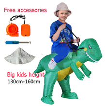 adult kids fan dragon trex dino rider purim carnival halloween christmas party costumes inflatable dinosaur costume