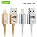 Original 100 GOLF 25cm 1m 1 5m 2m 3m USB Charger Data Cable For iPhone 5S