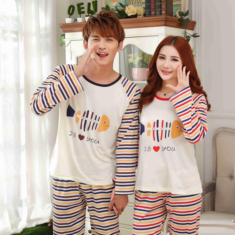 Cute Matching Couple Pajamas images